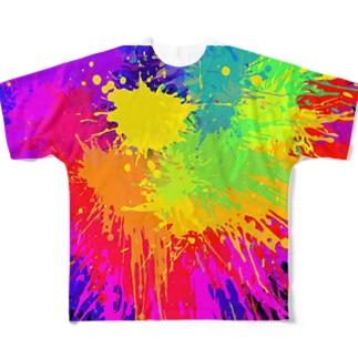 POPTシャツ フルグラフィックTシャツ