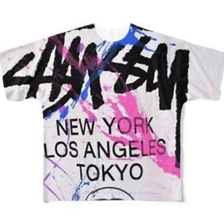おしゃんてぃ Full graphic T-shirts