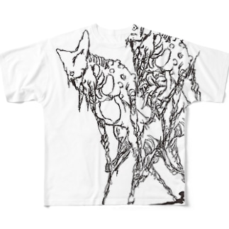 なんかのつがい フルグラフィックTシャツ