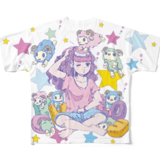 yumemiruko  Full graphic T-shirts