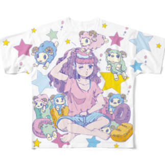 CHEBLOのyumemiruko  Full graphic T-shirts