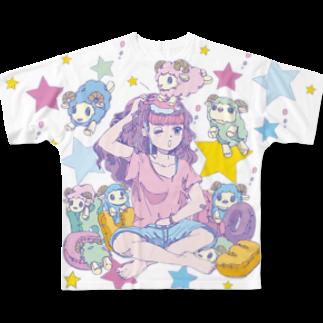 CHEBLOのyumemiruko  Full graphic T-shirts