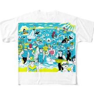 トライアスロン Full graphic T-shirts