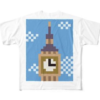 ビッグベン Full graphic T-shirts