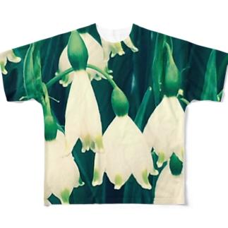 スノーフレーク フルグラフィックTシャツ