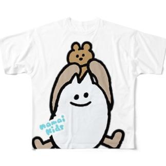 イエティのフルグラT「てやぁ」 フルグラフィックTシャツ