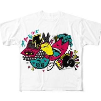 オヤシラズ フルグラフィックTシャツ