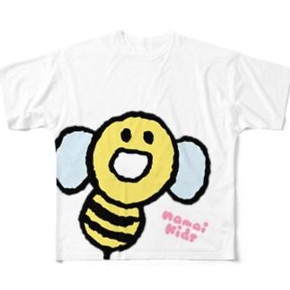 StingのフルグラT「ほわー」 フルグラフィックTシャツ