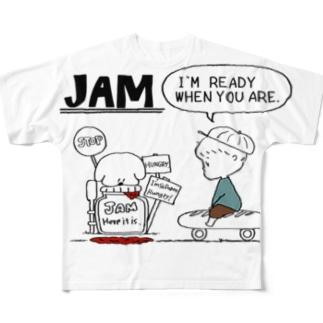 JAM BOY Full graphic T-shirts