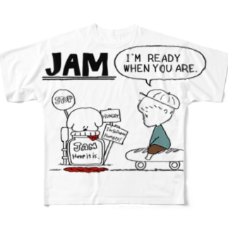 JAM BOY Full graphic T-shirts