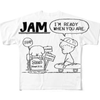 JAM&BOYmono Full graphic T-shirts