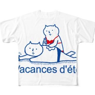 バカンス フルグラフィックTシャツ