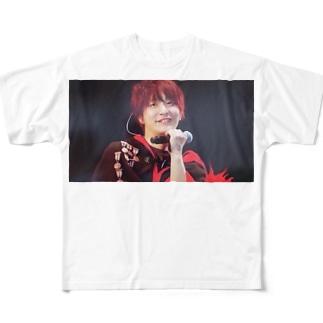 SEKAINOOWARI 深瀬グッズ Full graphic T-shirts