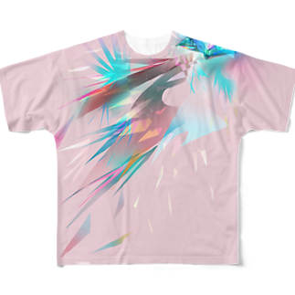 うとうとpetalの宝石の影 Full graphic T-shirts