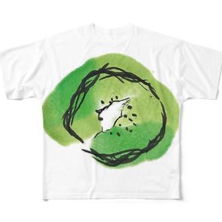 Kiwi フルグラフィックTシャツ