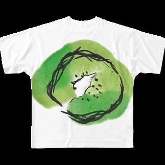 eauのKiwi Full graphic T-shirts