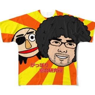 が総研 Full graphic T-shirts