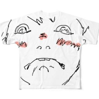 かたぎりゆう(恥ずかしい) Full graphic T-shirts