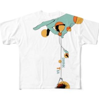 紅茶 Full graphic T-shirts