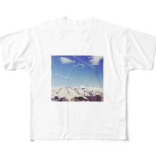 雪山 Full graphic T-shirts