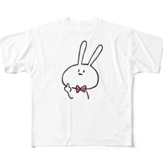 うさぎちゃん フルグラフィックTシャツ