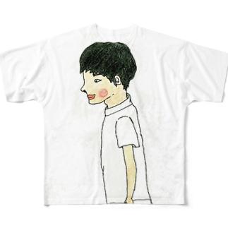 NODOKA院長 Full graphic T-shirts