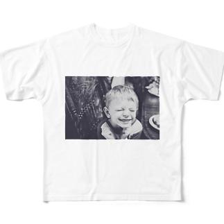 キッズ フルグラフィックTシャツ