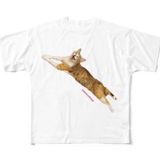 カステラちゃん Full graphic T-shirts