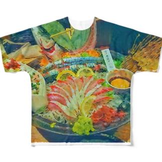 食べ残し そのに Full graphic T-shirts