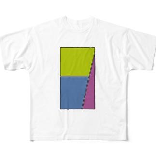 三コマ Full graphic T-shirts
