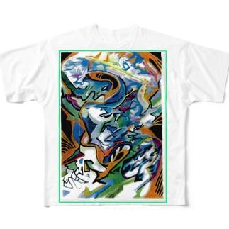 3 (2) フルグラフィックTシャツ