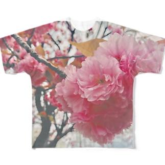 SAKURA Full graphic T-shirts