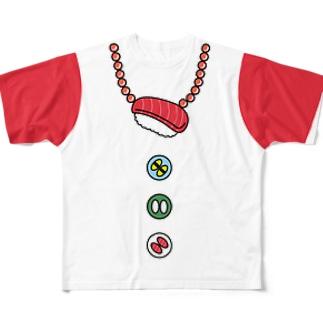 寿司T フルグラフィックTシャツ