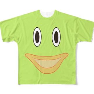 ロンどん君のTシャツ Full graphic T-shirts