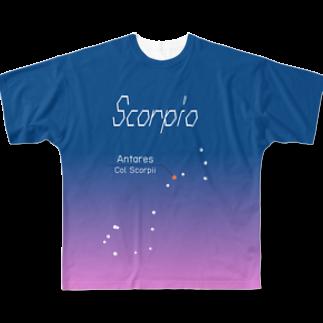 neoacoのScorpio -FullGraphic-フルグラフィックTシャツ