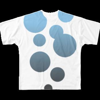 眠ろう いつまでも フルグラフィックTシャツ