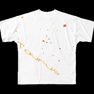 neoacoのTaurus -12 ecliptical constellations-フルグラフィックTシャツ