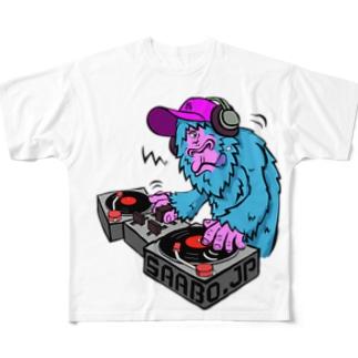 DJ_SAABO_CO2 フルグラフィックTシャツ