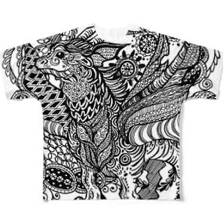 華竜 Full graphic T-shirts