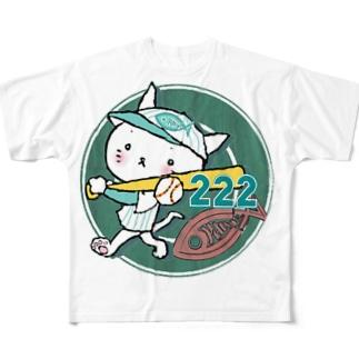 《松田が猫(ΦωΦ)なんだもの》 Full graphic T-shirts