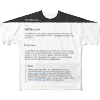 NSWindow Full graphic T-shirts