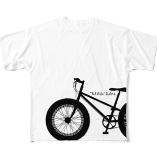 mawwwww.com | design projectのFAT BIKE riders (full) Full graphic T-shirts