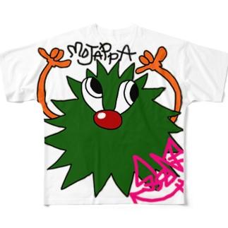 モジャッパ Full graphic T-shirts