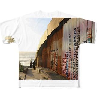 旅路 フルグラフィックTシャツ