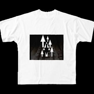 GAKU style のRSST Full graphic T-shirts