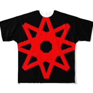 あいくマーク Full graphic T-shirts