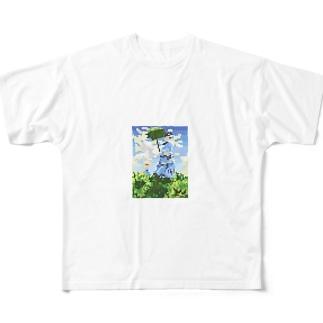 モネのモシャ フルグラフィックTシャツ