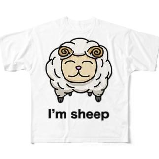 I`m sheep Full graphic T-shirts