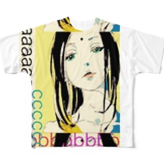 某脳涅槃ナイト フルグラフィックTシャツ