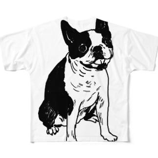 rin05w Full graphic T-shirts